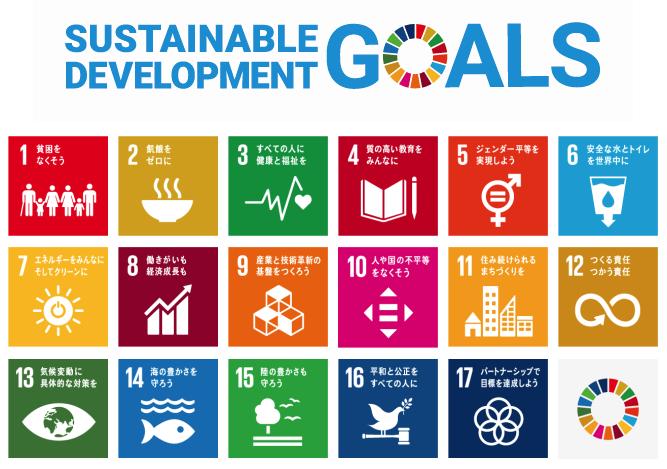 SDGsの達成に向けた様々な取り組み